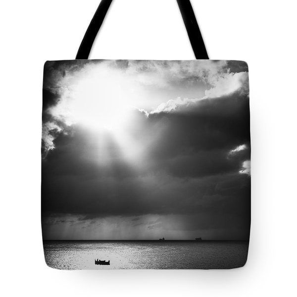 Lonely At Sea Tote Bag