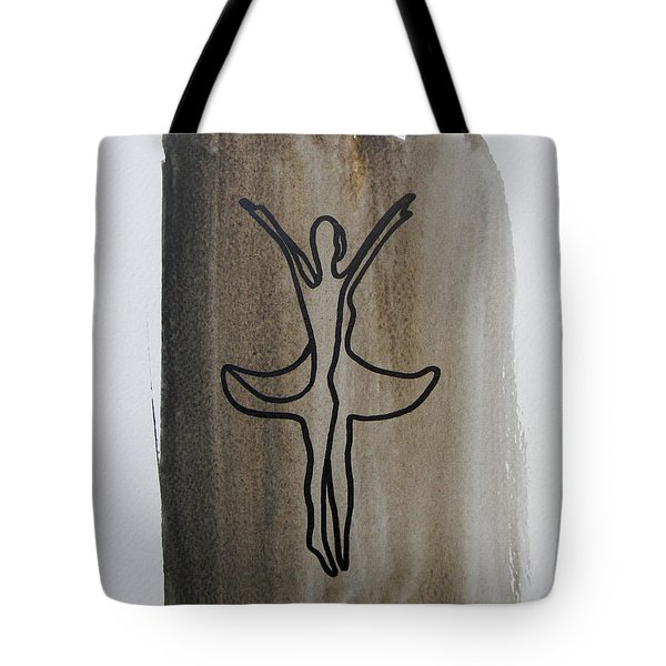 Lonely Ballerina 1 Tote Bag