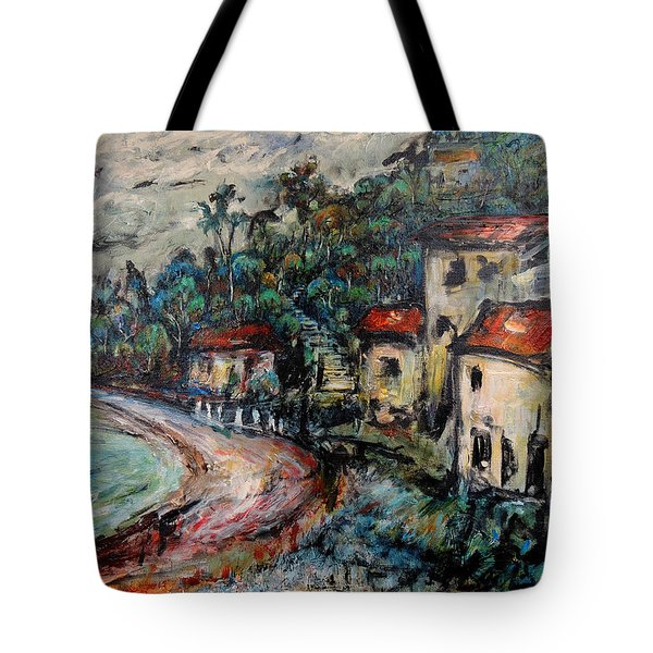 Lonely Bay Tote Bag