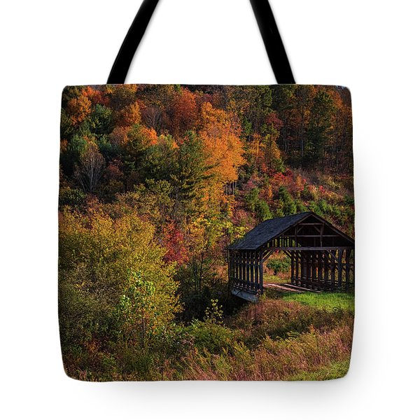 Lonely Bridge Tote Bag