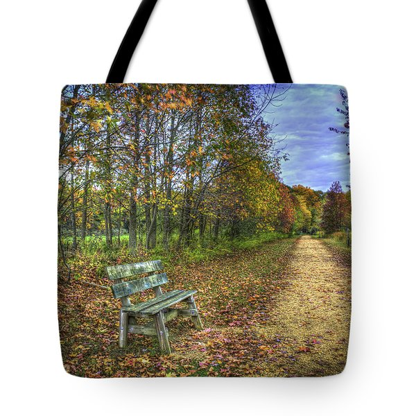 Lonely Chair Tote Bag