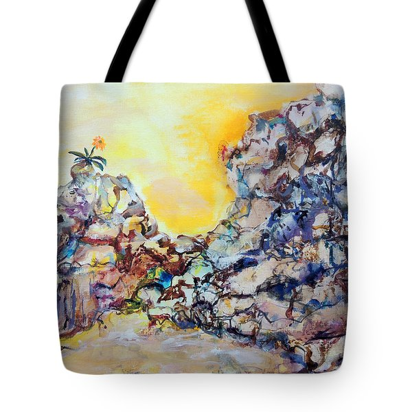 Lonely Flower Tote Bag