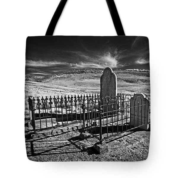 Lonely Graves Tote Bag