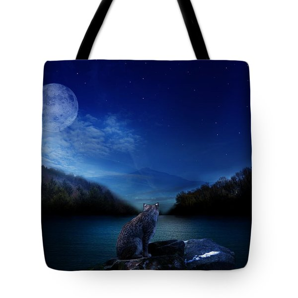 Lonely Hunter Tote Bag