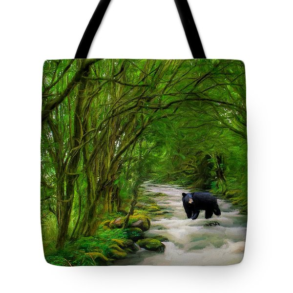Lonely Hunter Tote Bag by Steven Richardson