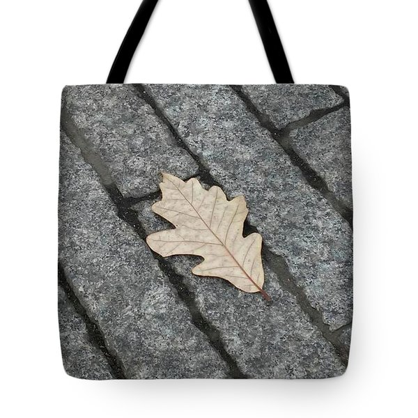 Lonely Leaf Tote Bag