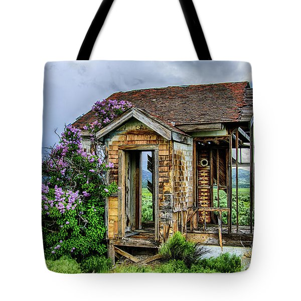 Lonely Lilacs Tote Bag