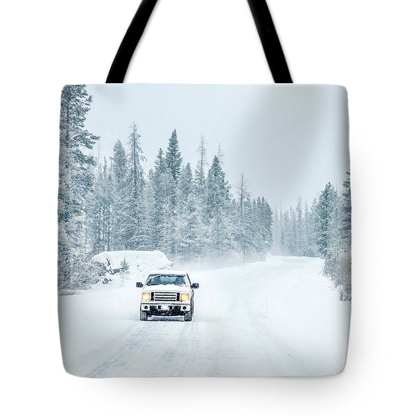 Lonely Mile Tote Bag
