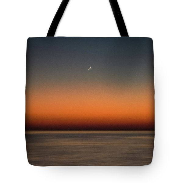 Lonely Moon Tote Bag
