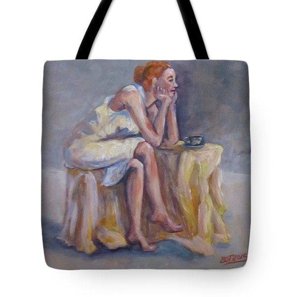 Lonely Mornings Tote Bag