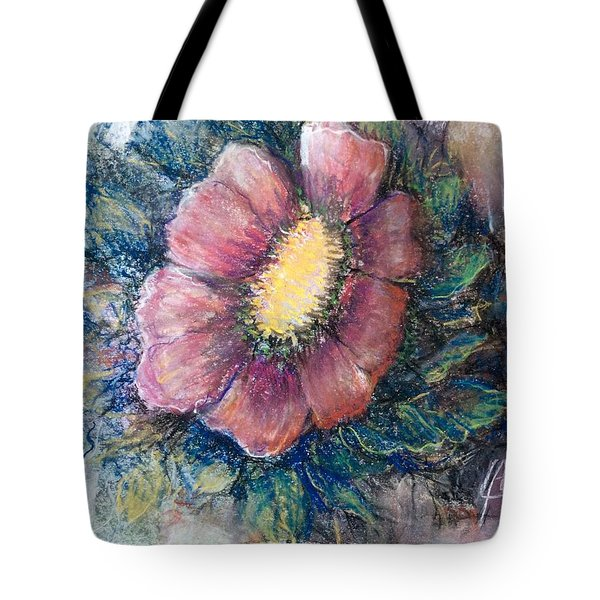 Tote Bag featuring the drawing Lonely On The Rock  by Laila Awad Jamaleldin