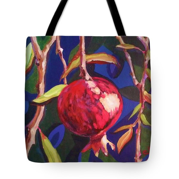 Lonely Pomegranate Tote Bag