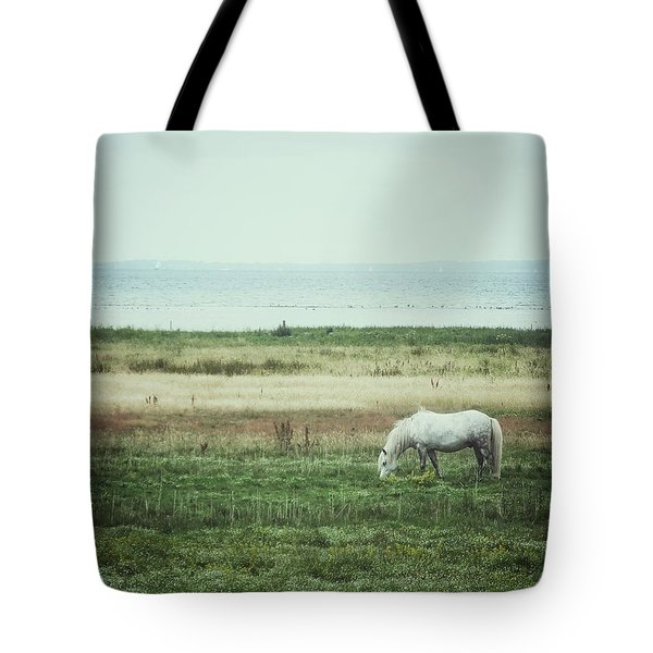 Lonely Pony Tote Bag by Karen Stahlros