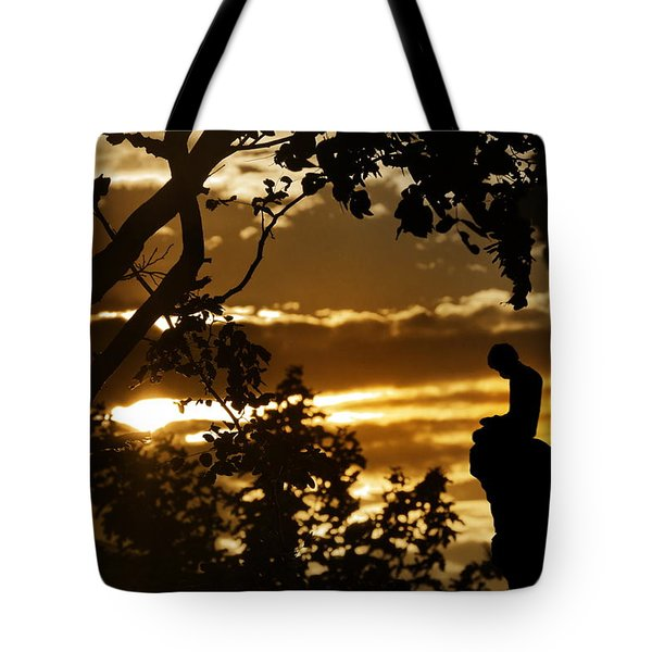 Lonely Prayer Tote Bag