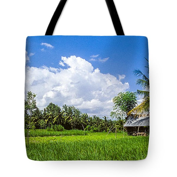 Lonely Rice Hut Tote Bag