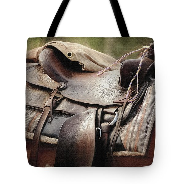 Lonely Saddle  Tote Bag