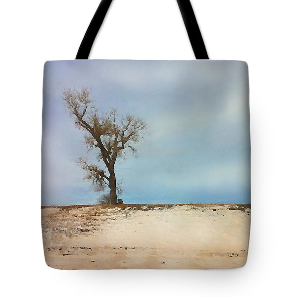 Lonely Sentinel  Tote Bag