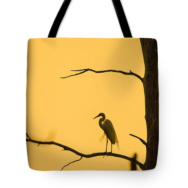 Lonely Silhouette Tote Bag