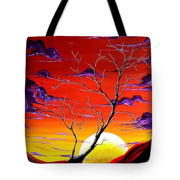 Lonely Soul By Madart Tote Bag by Megan Duncanson