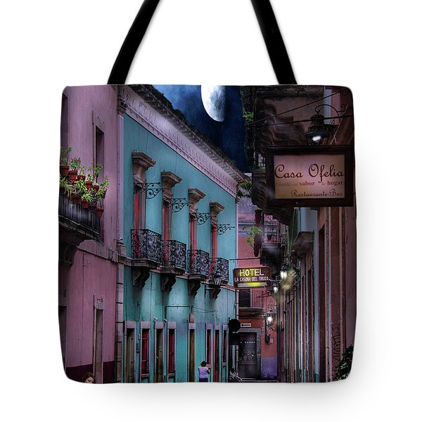 Lonely Street Tote Bag