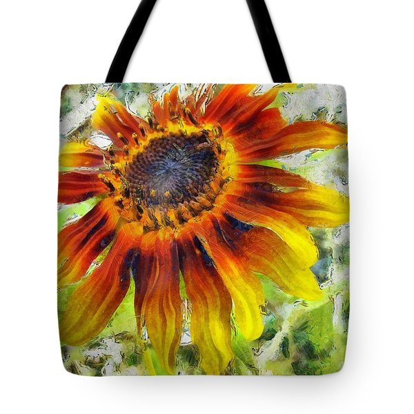 Lonely Sunflower Tote Bag