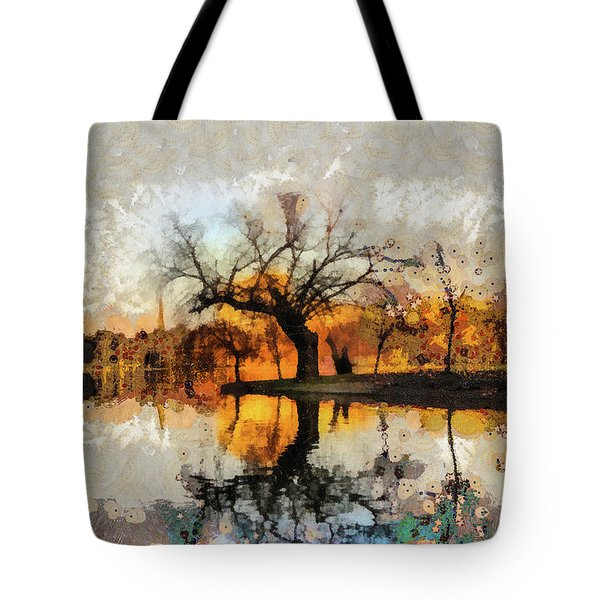Lonely Tree And Its Thoughts Tote Bag