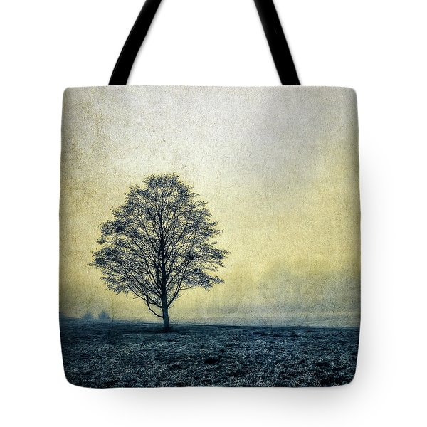 Tote Bag featuring the photograph Lonely Tree by Marion McCristall