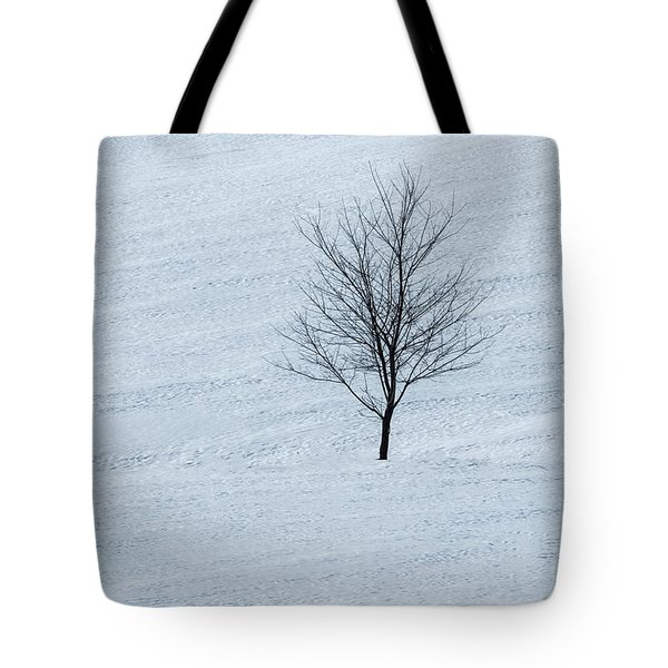Tote Bag featuring the photograph Lonely Tree by Tom Singleton