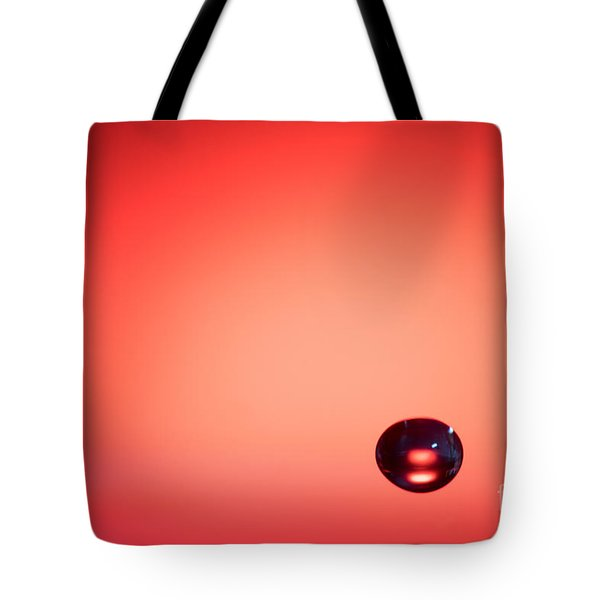 Lonely Water Drop Tote Bag
