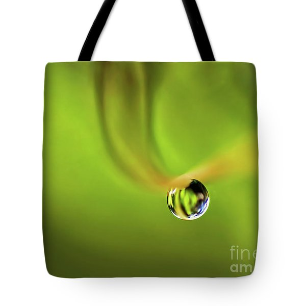 Lonely Water Droplet Tote Bag