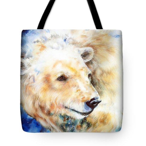 Loner_polar Bear Tote Bag