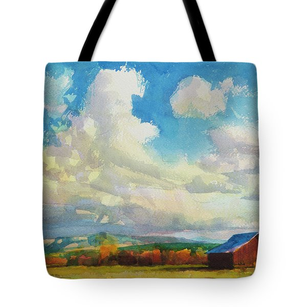 Lonesome Barn Tote Bag