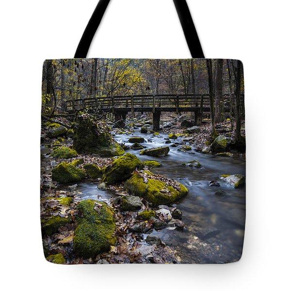 Lonesome Bridge Tote Bag