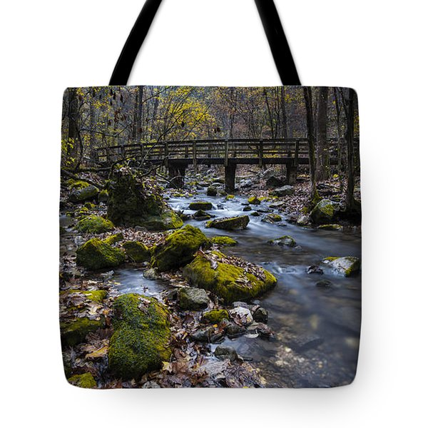 Lonesome Bridge Tote Bag