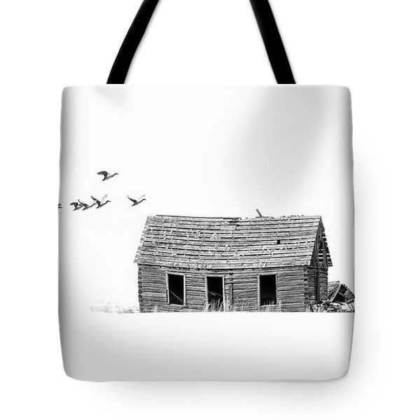 Lonesome But Peaceful Tote Bag