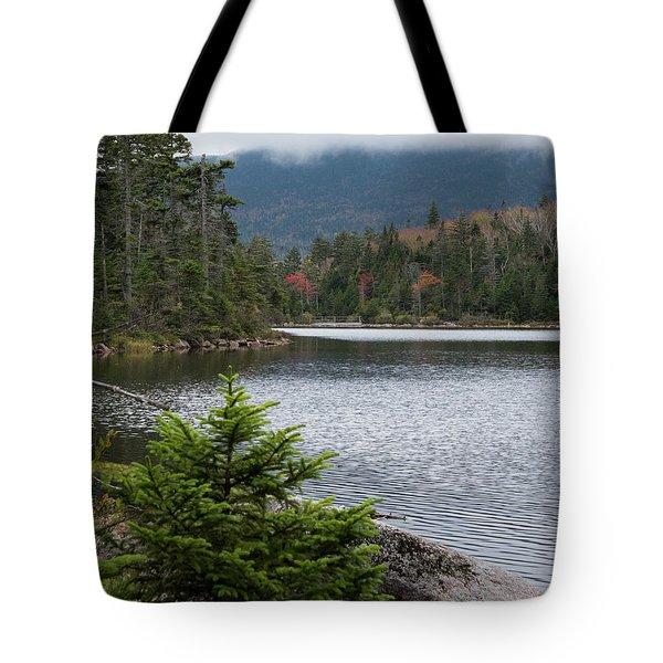 Lonesome Lake Tote Bag