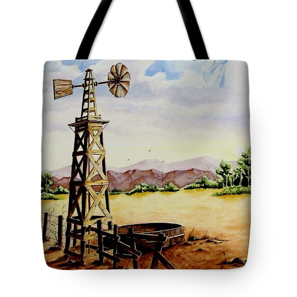 Lonesome Prairie Tote Bag by Jimmy Smith