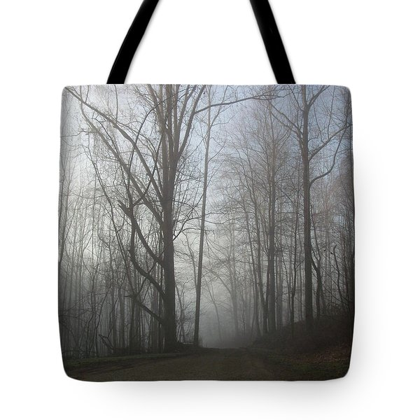 Lonesome Road Tote Bag by Cynthia Lassiter