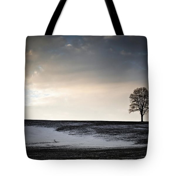 Lonesome Tree On A Hill IIi Tote Bag