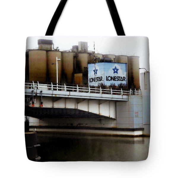 Tote Bag featuring the digital art Lonestar 1 by David Blank
