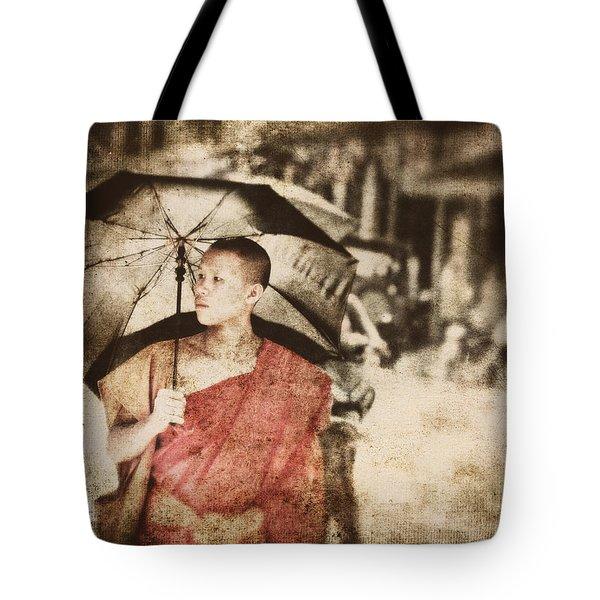 Long Ago In Luang Prabang Tote Bag