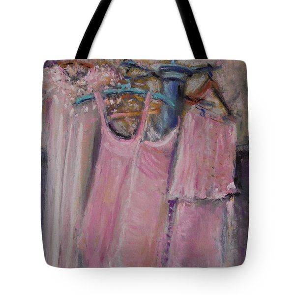 Long Ago Lingerie  Tote Bag