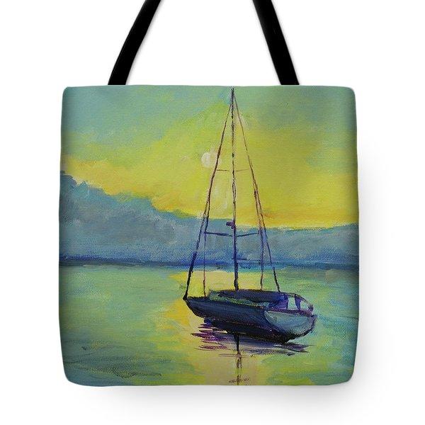 Long-awaited Sunrise Tote Bag