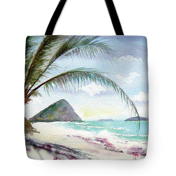 Long Bay Shadows Tote Bag