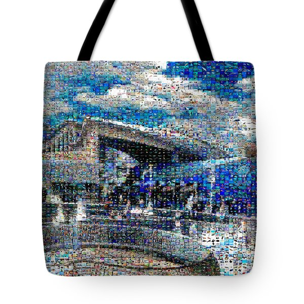 Long Beach Aquarium Mosaic Tote Bag