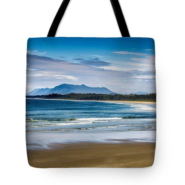 Long Beach, B.c Tote Bag