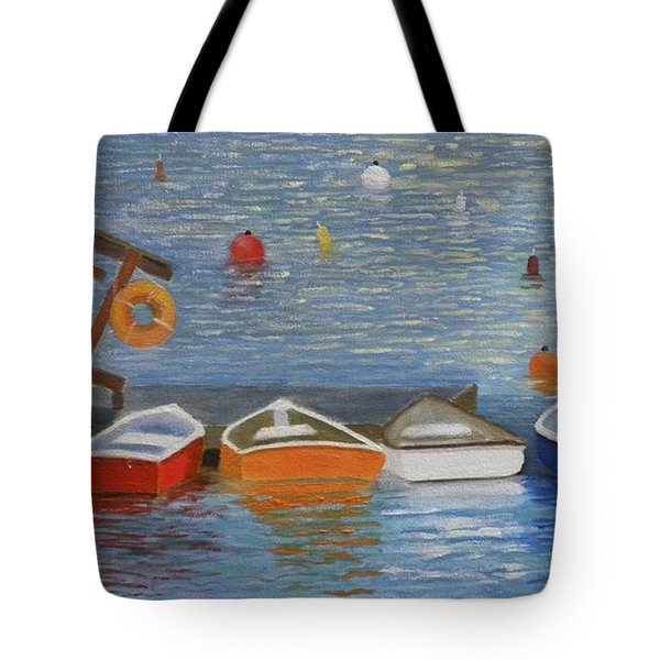 Long Cove Dock Tote Bag