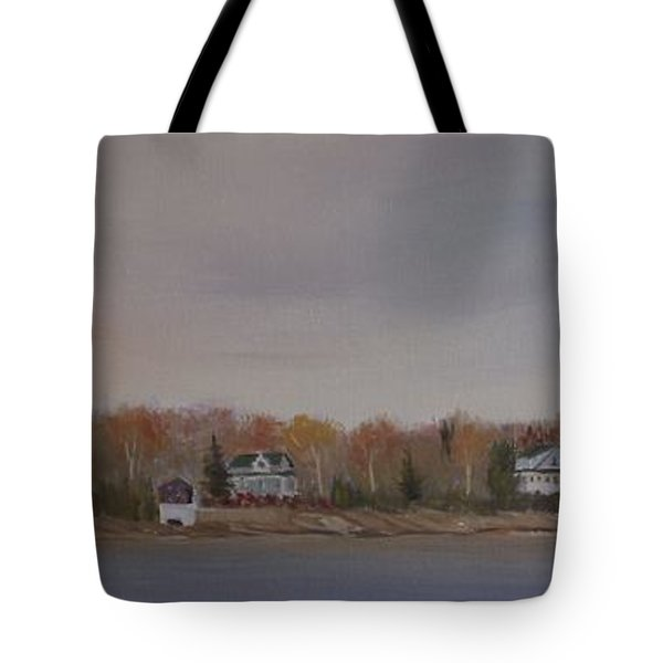 Long Cove Fall Tote Bag