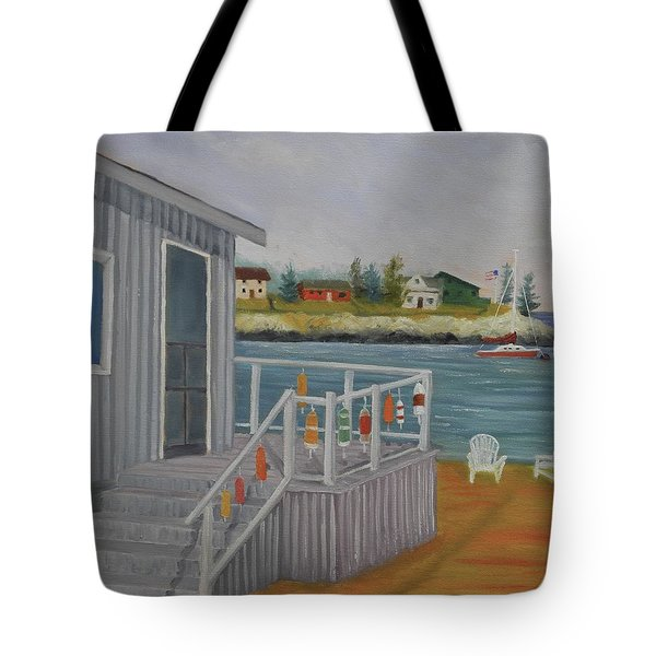 Long Cove View Tote Bag