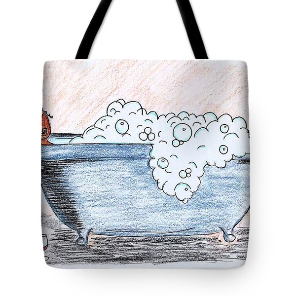 Long Day Tote Bag by Diamin Nicole